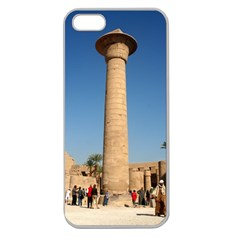 Temple Of Karnak Luxor Egypt  Apple Seamless Iphone 5 Case (clear)