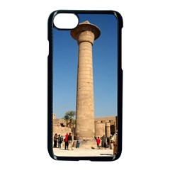 Temple Of Karnak Luxor Egypt  Apple Iphone 7 Seamless Case (black)