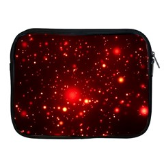 Firework Star Light Design Apple Ipad 2/3/4 Zipper Cases