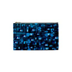 Smartphone System Web News Cosmetic Bag (small) by Bejoart