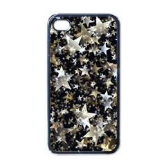 Background Star Christmas Advent Apple Iphone 4 Case (black)