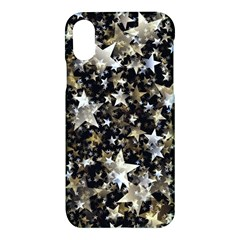 Background Star Christmas Advent Apple Iphone X Hardshell Case