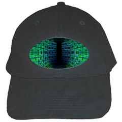 Technology Artificial Intelligence Black Cap by Bejoart