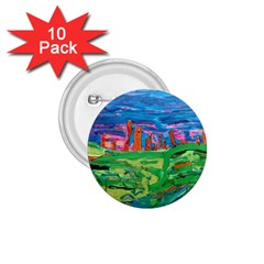 Our Town My Town 1 75  Buttons (10 Pack) by arwwearableart