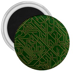 Circuit Board Electronics Draft 3  Magnets by Bejoart