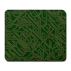 Circuit Board Electronics Draft Large Mousepads by Bejoart