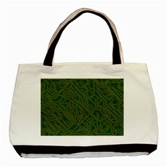 Circuit Board Electronics Draft Basic Tote Bag (two Sides) by Bejoart