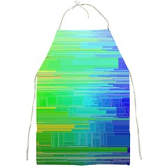 Colors Rainbow Chakras Style Full Print Aprons