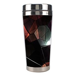 Crystals Background Design Luxury Stainless Steel Travel Tumblers