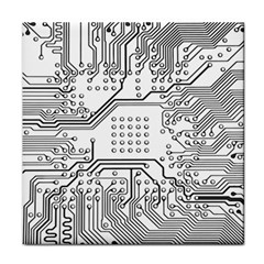 Circuit Board Pcb Computer Face Towel by Bejoart