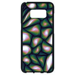 Fuzzy Abstract Art Urban Fragments Samsung Galaxy S8 Black Seamless Case