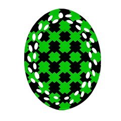 Art Modern Design Contemporary Ornament (oval Filigree)