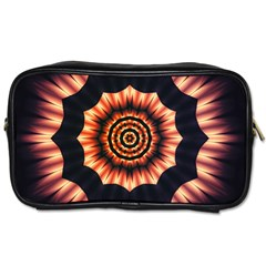 Digital Art  Artwork Abstract Toiletries Bag (two Sides) by Bejoart