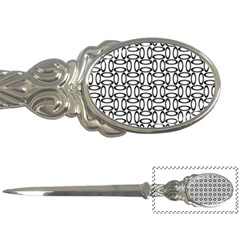 Ellipse Pattern Ellipse Dot Pattern Letter Opener by Bejoart