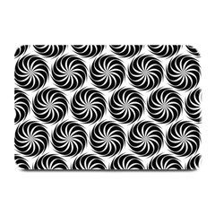 Pattern Swirl Spiral Repeating Plate Mats
