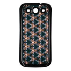 Abstract Light Fractal Pattern Samsung Galaxy S3 Back Case (black)
