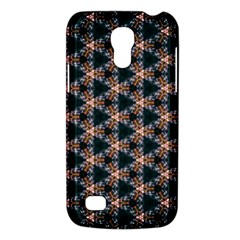 Abstract Light Fractal Pattern Samsung Galaxy S4 Mini (gt I9190) Hardshell Case