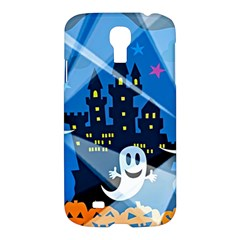 Halloween Ghosts Haunted House Samsung Galaxy S4 I9500/i9505 Hardshell Case