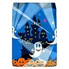Halloween Ghosts Haunted House Removable Flap Cover (l)