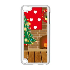Christmas Room Living Room Apple Ipod Touch 5 Case (white)