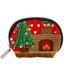 Christmas Room Living Room Accessory Pouch (small)