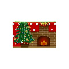 Christmas Room Living Room Cosmetic Bag (xs)