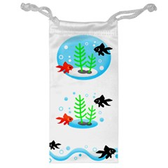 Fishbowl Fish Goldfish Water Jewelry Bag