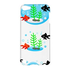 Fishbowl Fish Goldfish Water Apple Ipod Touch 5 Hardshell Case