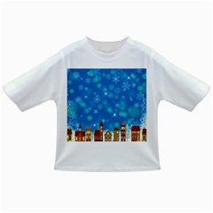 Winter Village Snow Brick Buildings Infant/toddler T Shirts