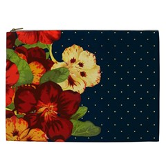 Flowers Vintage Floral Cosmetic Bag (xxl)