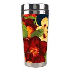 Flowers Vintage Floral Stainless Steel Travel Tumblers by Wegoenart