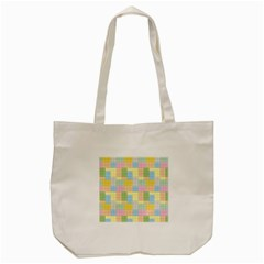 Lego Background Tote Bag (cream) by Wegoenart
