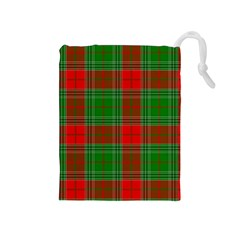 Lumberjack Plaid Buffalo Plaid Drawstring Pouch (medium)