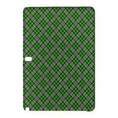 Lumberjack Plaid Buffalo Plaid Green White Samsung Galaxy Tab Pro 10 1 Hardshell Case