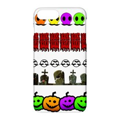 Halloween Borders Trick Or Treat Apple Iphone 7 Plus Hardshell Case