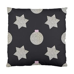Star Silver Standard Cushion Case (two Sides) by alllovelyideas