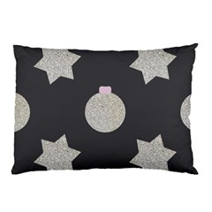 Star Silver Pillow Case (two Sides) by alllovelyideas