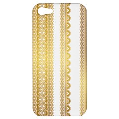 Lace Gold Euclidean Vector Apple Iphone 5 Hardshell Case