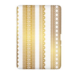Lace Gold Euclidean Vector Samsung Galaxy Tab 2 (10 1 ) P5100 Hardshell Case