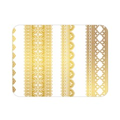 Lace Gold Euclidean Vector Double Sided Flano Blanket (mini)
