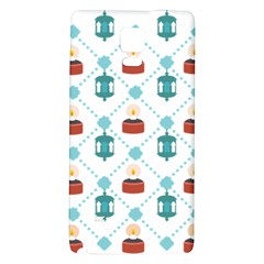 Geometric Patterns Pattern Candles Lights Samsung Note 4 Hardshell Back Case