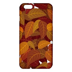 Leaves Pattern Iphone 6 Plus/6s Plus Tpu Case