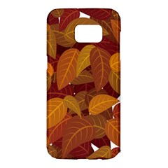 Leaves Pattern Samsung Galaxy S7 Edge Hardshell Case