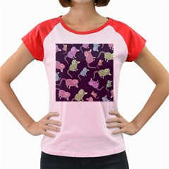 Animals Mouse Cartoon Pet Women s Cap Sleeve T Shirt