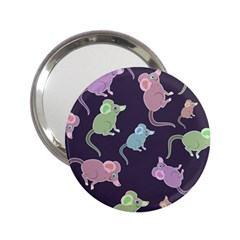 Animals Mouse Cartoon Pet 2 25  Handbag Mirrors