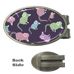 Animals Mouse Cartoon Pet Money Clips (oval)