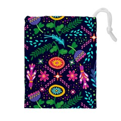 Pattern Nature Design Patterns Drawstring Pouch (xl)