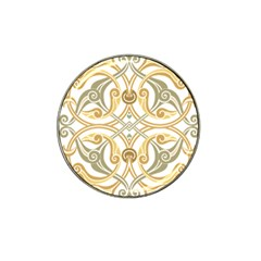Arabesque Ornament Islamic Art Stencil Drawing Hat Clip Ball Marker