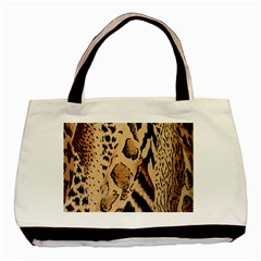Animal Pattern Design Print Texture Basic Tote Bag