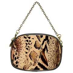 Animal Pattern Design Print Texture Chain Purse (one Side)
